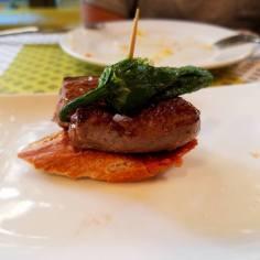 Filete de ternera (beef filet)