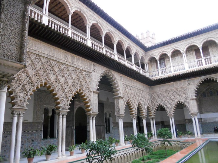 alcazar patio