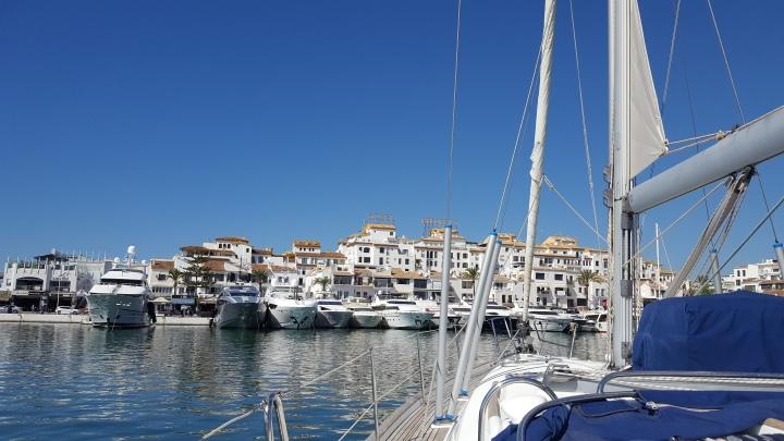puerto banus sail