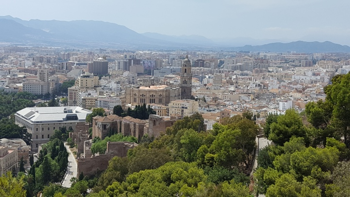 view from alcazaba