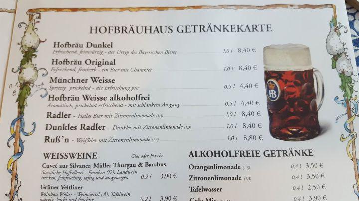 hof menu