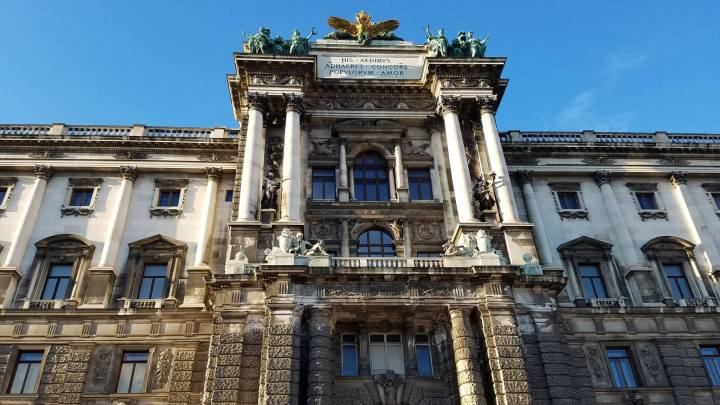 hofburg palace front