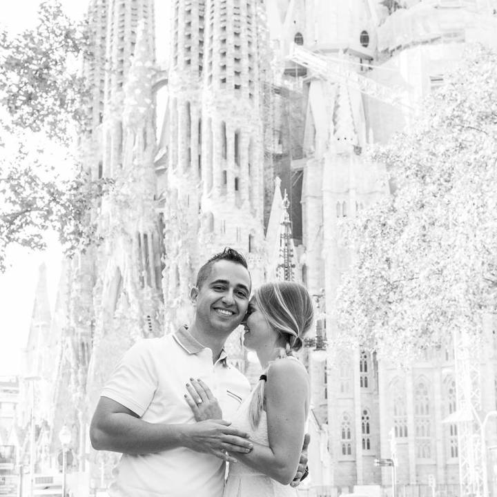 sagrada familia engagement